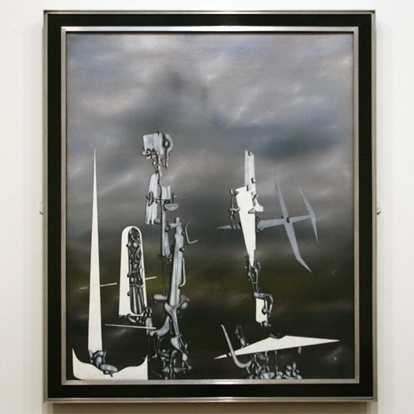 Yves Tanguy - The Invisibles - Olieverf op canvas