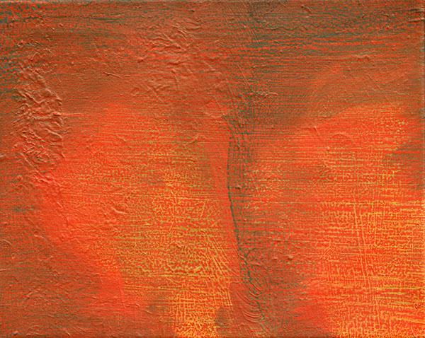 Giel Louws - Back 4 - 24x30cm Acrylverf op canvas