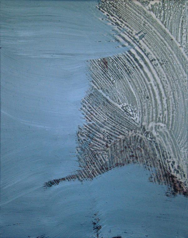 Giel Louws - Zonder Titel - 40x50cm Acrylverf op canvas