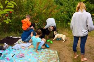 LOST TRACK Reiseblog Deutschland Heimat erkunden unterwegs Roadtrip on the road Familytime Familienzeit Blausteinsee baden