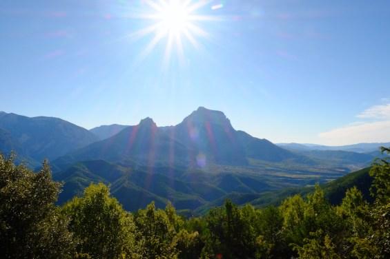 LOST TRACK Reiseblog Pyrenäen Spanien Toyota Land Cruiser offroad wild camping Bergpass Bergtal Herbst Herbstimpressionen Piste Ordesa Nationalpark