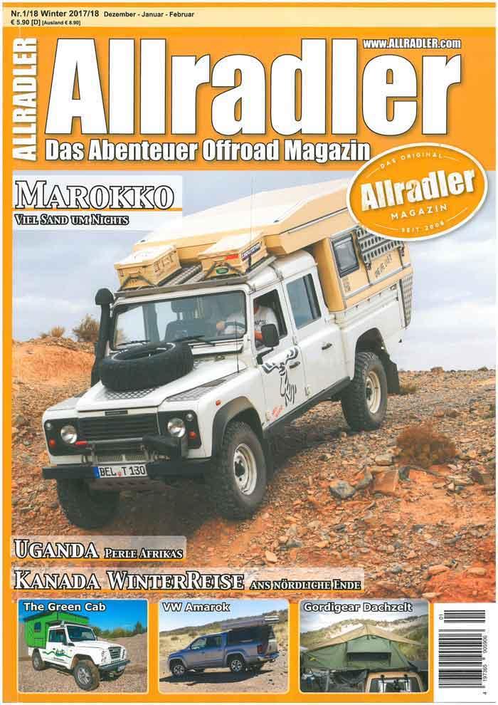 Lost Track Presse Allradler Magazin 01/2018 Presseartikel Buschtaxitreffen 2017 4x4 Offroad Zeitschrift Zeitung Zeitungsartikel Presseartikel
