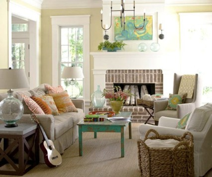 cottage-style-living-room-bhg
