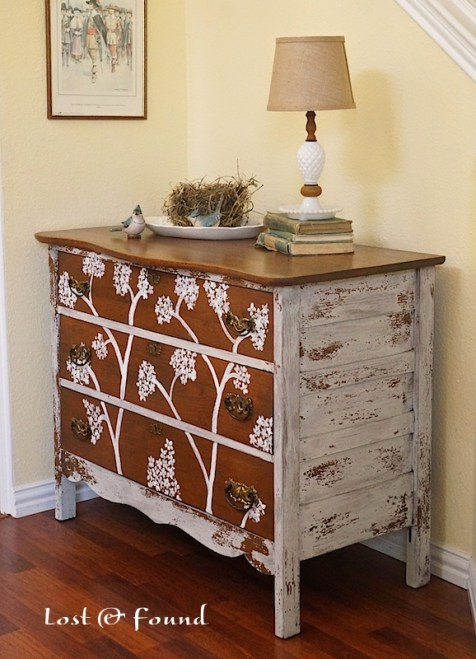 Picking the right paint color for your furniture project for Found furniture