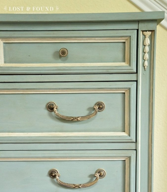 Pin It on Pinterest - When And How To Use Antique Glaze Or Dark Wax On Your Painted