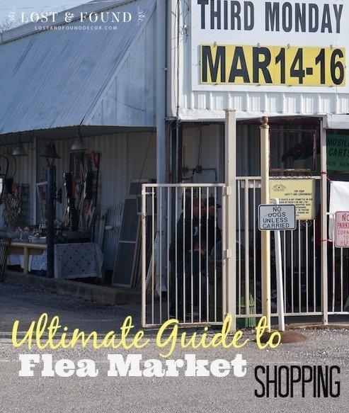 Guide to flea market shopping