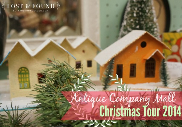 Antique Company Mall Vintage Christmas Tour