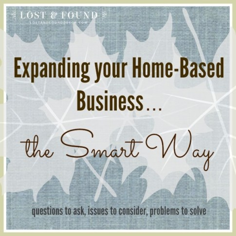expanding your home based business
