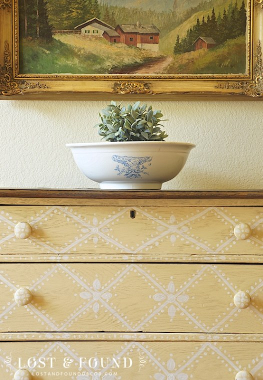 fusion mineral paint oak washstand furniture makeover