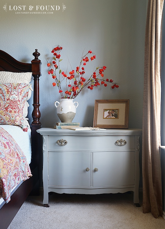 Makeover using Fusion Mineral Paint in the color Linen