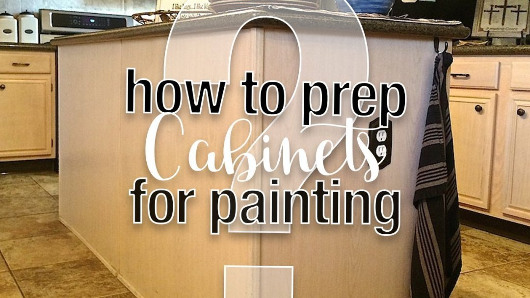 how to prep kitchen cabinets for painting with fusion mineral paint 4