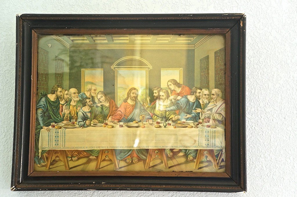 Decorating with Vintage Religious Art | Lost & Found