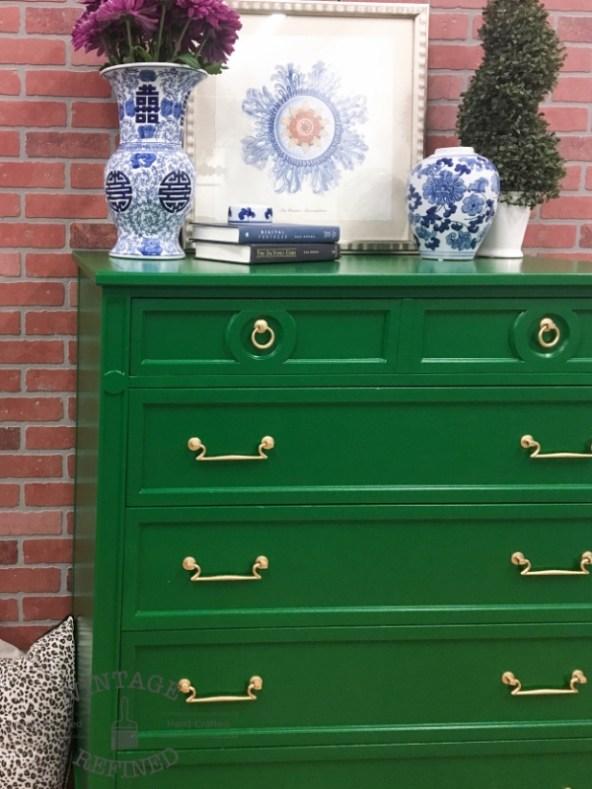 emerald+green+dresser