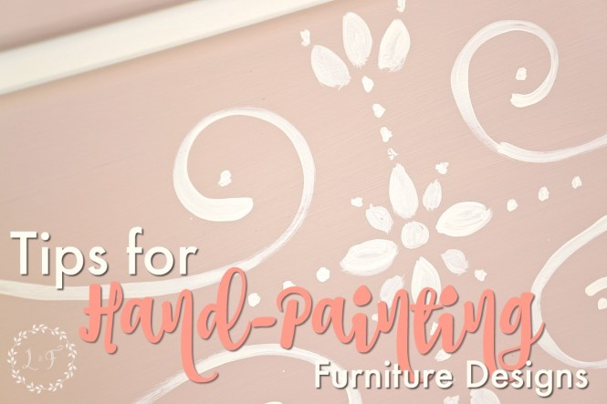 Tips for how to Hand-Paint Designs onto Furniture the easy way