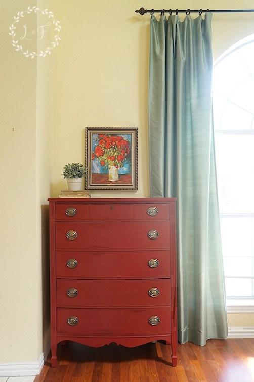ft york red dresser 1