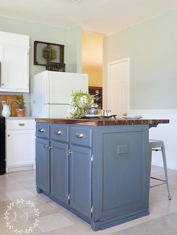 Perfect DIY Kitchen Island Makeover Part 2 4