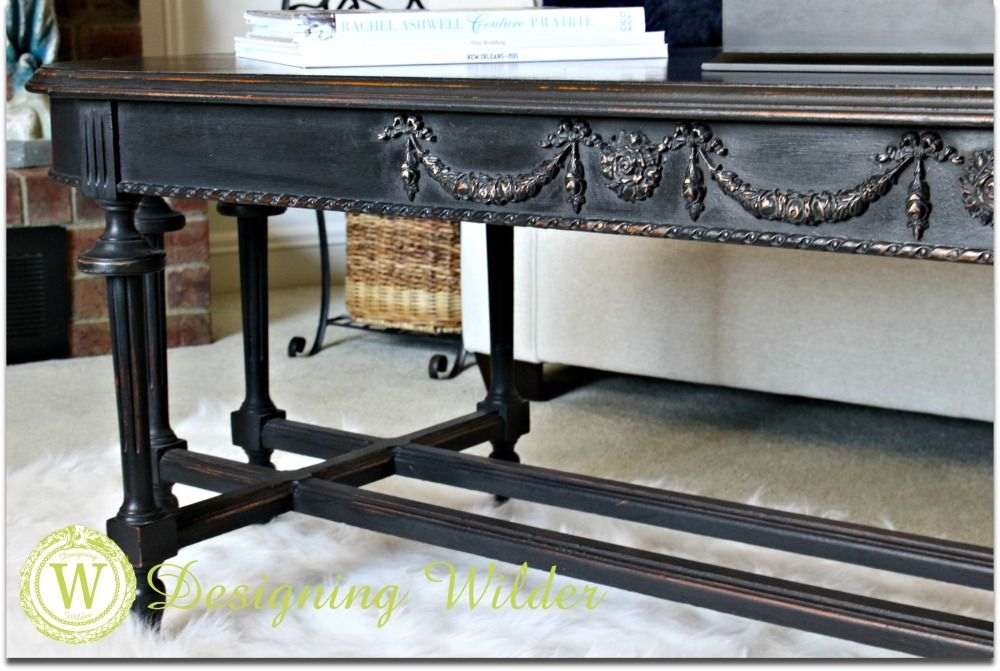 DIY-Upcycled-coffee-table-with-carved-sides