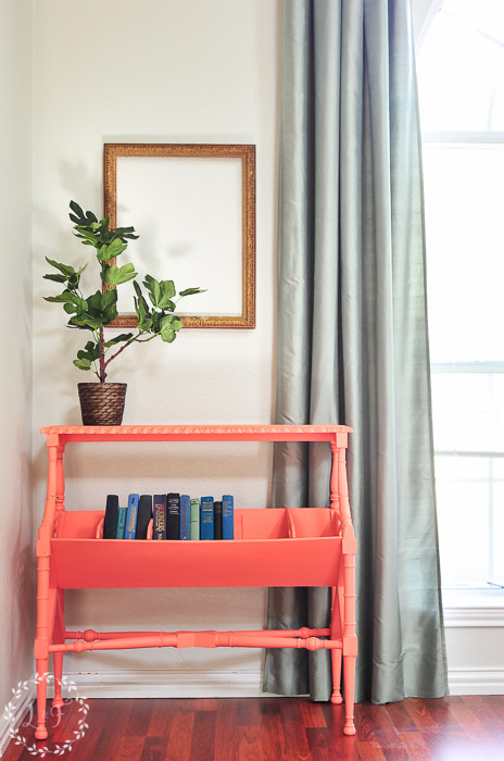 fusion-mineral-paint-coral-library-table