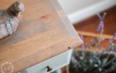 Fusion Mineral Paint April Color of the Month | Inglenook Painted Nightstand