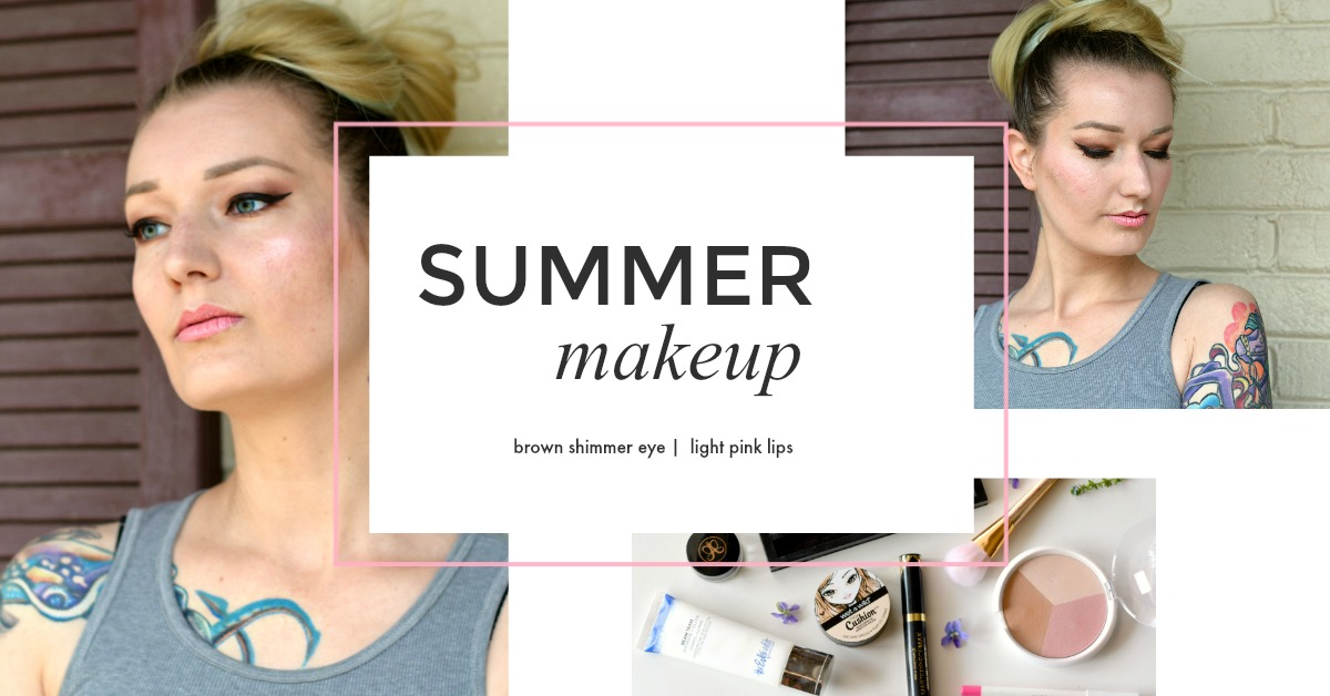 Makeup #6 – sanfter Sommer Look