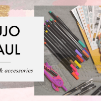 Bullet Journal Haul - new journal, washi, stickers & more