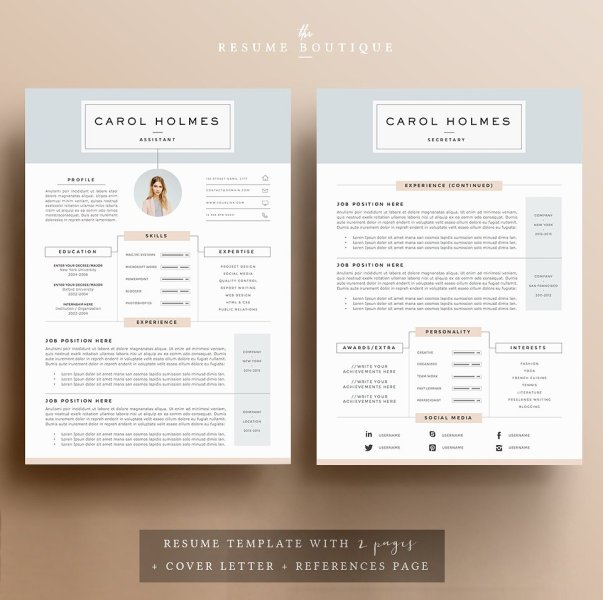 Resume Templates That ll Help You Stand Out From The Crowd   gen y girl Milky Way Resume Template      15