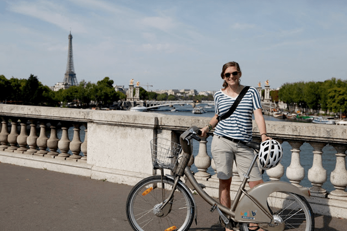 Image result for biking in paris