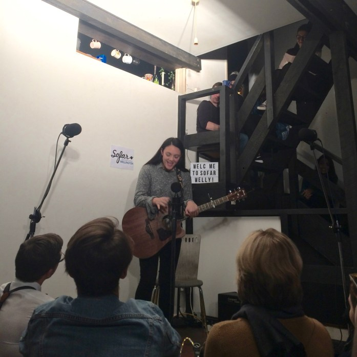Sofar Sounds Wellington Monthly Faves