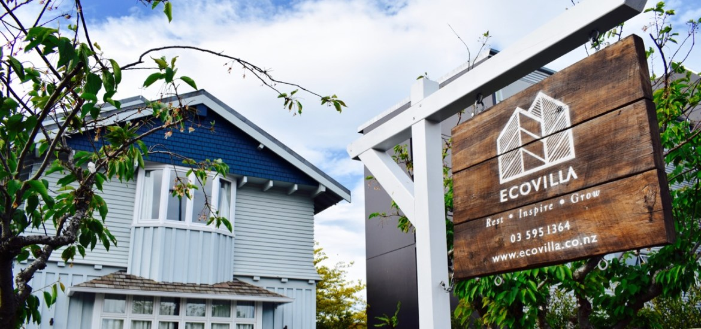 Eco Villa Christchurch Outside