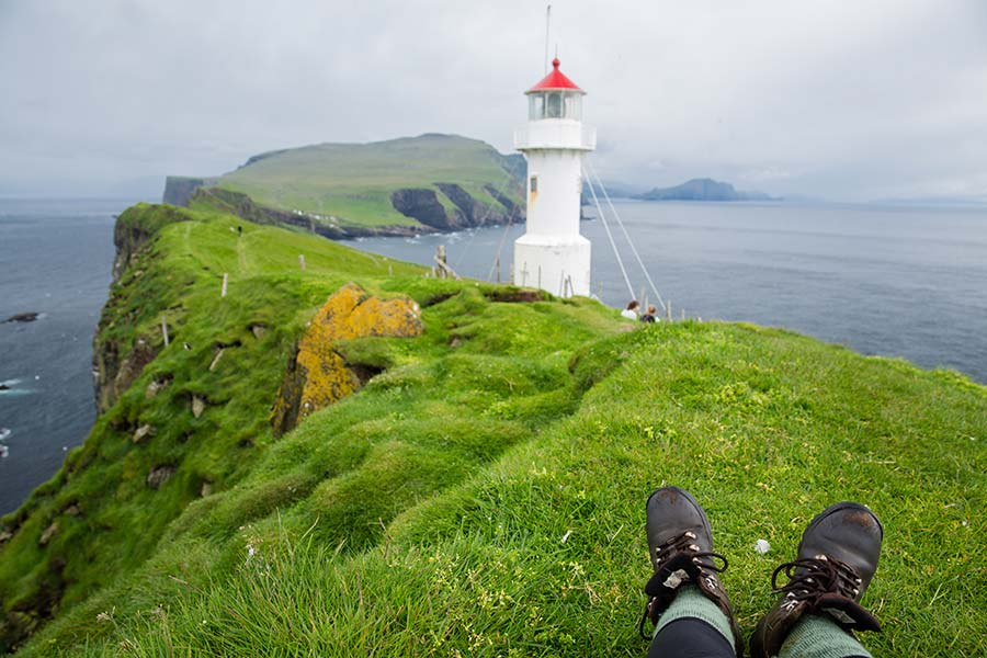 Mykines Faroe Islands lighthouse