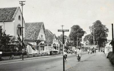 The street that beforehand was known as Laan Holle (Holle Lane)