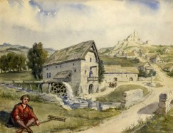 Walsall_in_Medieval_Times_(15th_Century)_Artist's_Impression