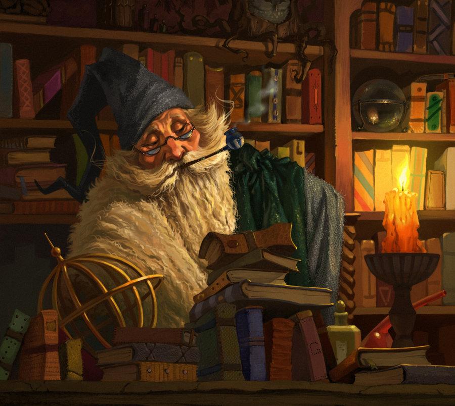Wizard by Stefana Tserk (Ekaterina)