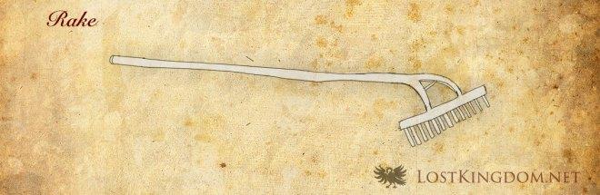 Medieval tools: Rake