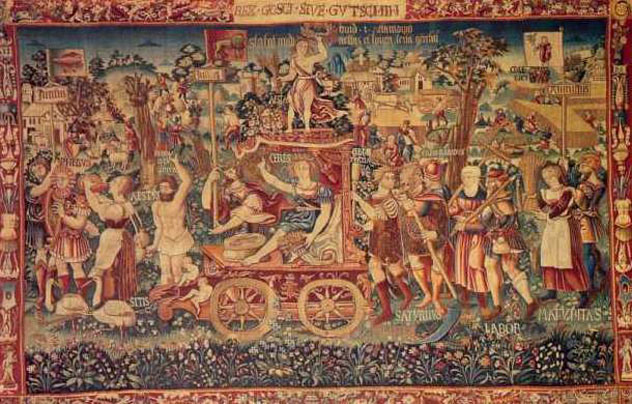 Wednesday Writing Hook #9  The Summer's Triumph Tapestry