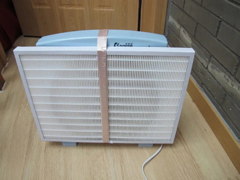DIY air purifier from the Particle Counting blog.