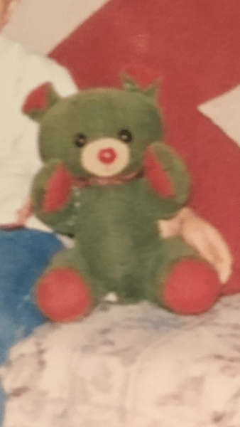 Body Stomach Arms Knickerbockers Brown Ears And Yellow Feet And Red Eyes Teddy