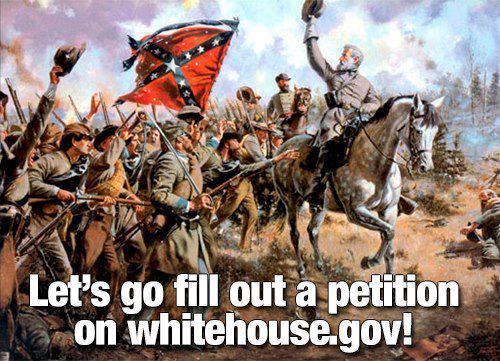 Confederate Petition