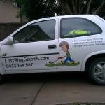 Detecting car signage