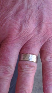 Closeup of ring