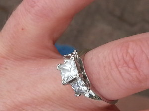 Adelaide Lost Ring Search recovered diamond engagement ring