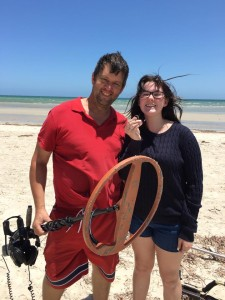 Adelaide Lost Ring Search Gold Ring recovered at Semaphore beach
