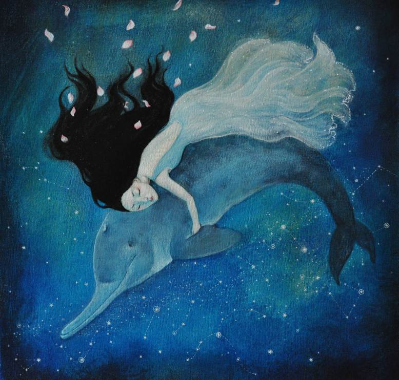 Baiji Dolphin by Lucy Campbell