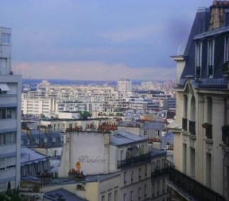 Vista sui tetti di Parigi