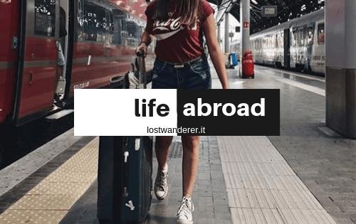 Life Abroad, copertina, blog, expat