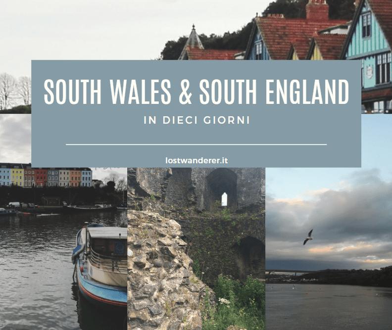 guida, travel guide, copertina, south wales, south england, itinerario, bristol, cardiff
