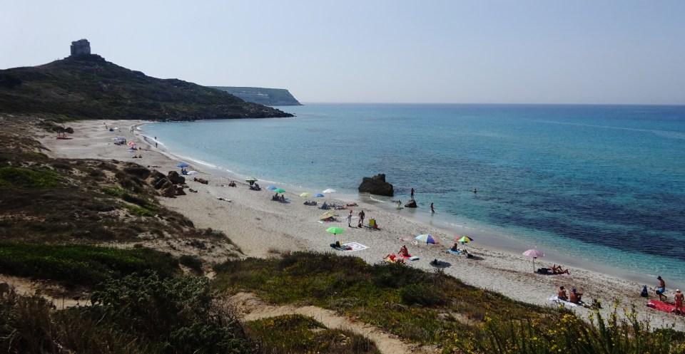Capo San Marco, Sardegna, spiaggia