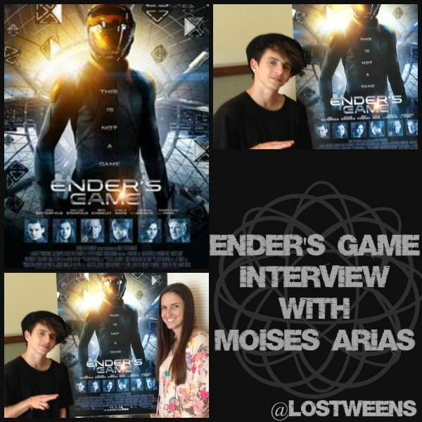 Moises Arias On His Role in Ender's Game & His Hispanic ...