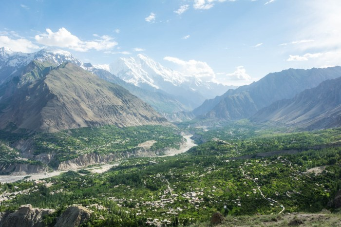 Pakistan bucket list - Hunza Valley from Karimabad - Lost With Purpose travel blog