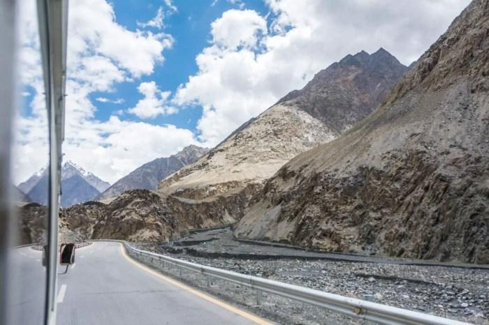 Pakistan bucket list - Bus to Khunjerab Pass near the Pakistan China border - Lost With Purpose travel blog